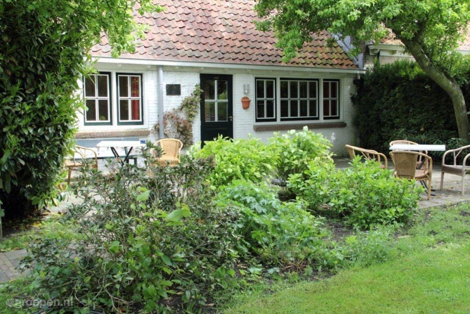 Groepsaccommodatie Goingarijp - Nederland - Friesland - 28 personen - terras