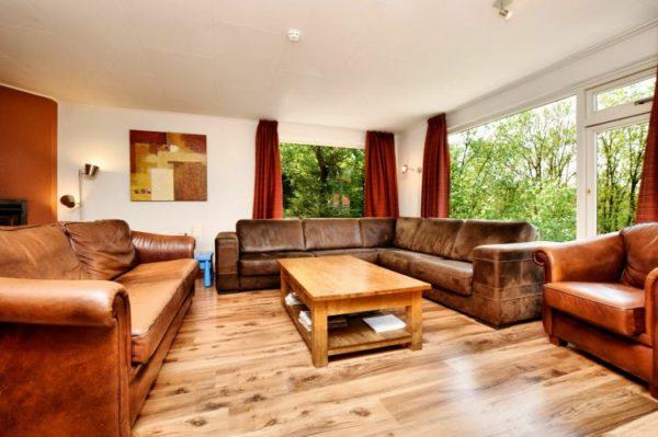 Vakantiehuis Saffier - België - Ardennen - 16 personen - woonkamer