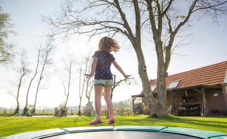 familieweekendaccommodatie met trampoline