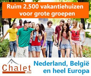chalet grote vakantiehuizen banner