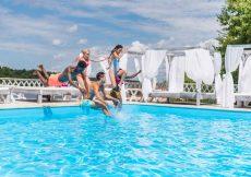 genieten in huis met zwembad